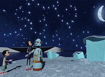 tilt planetarium show