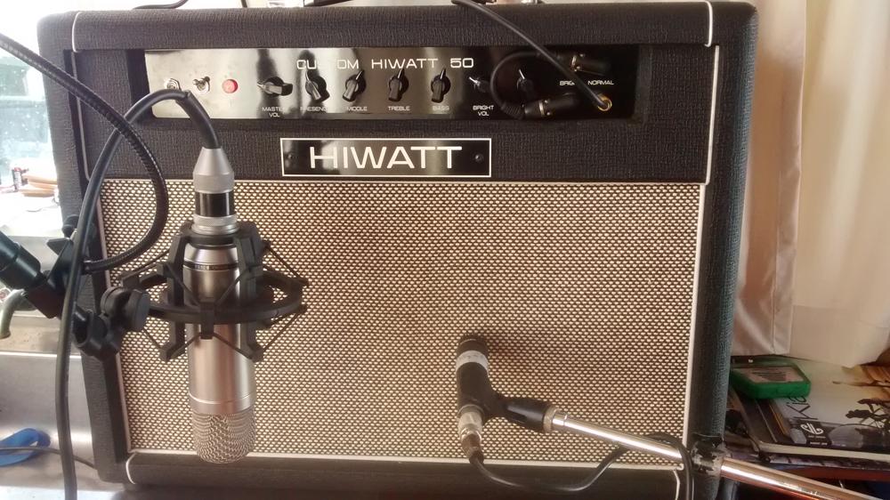 Hiwatt Custom 50 -guitar amp